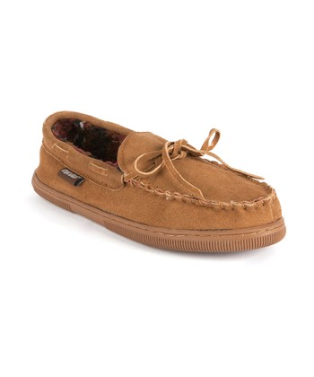 Tan Berber Suede Moccasin - Men