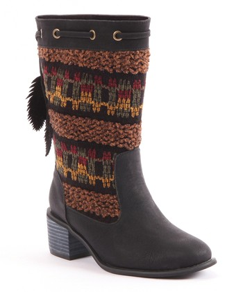 Black Carla Boot - Women
