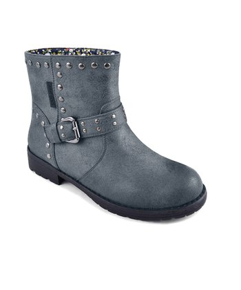 Charcoal Bailee Buckle Boot - Women