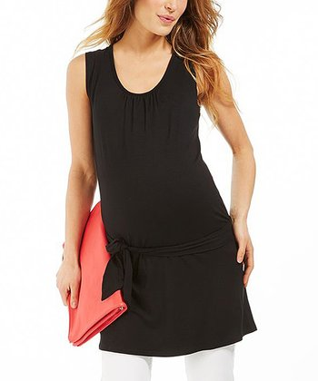 Black Ruby Maternity Tunic