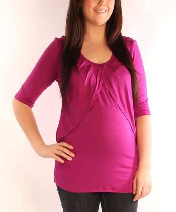 Berry Maternity & Nursing Tulip Top