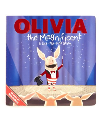 Olivia the Magnificent Board Book