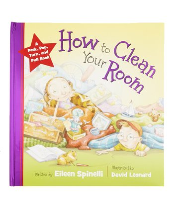 How to Clean Your Room Padded Hardcover