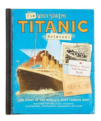 Titanic Notebook: The Story of the Famous Ship Padded Hardcover