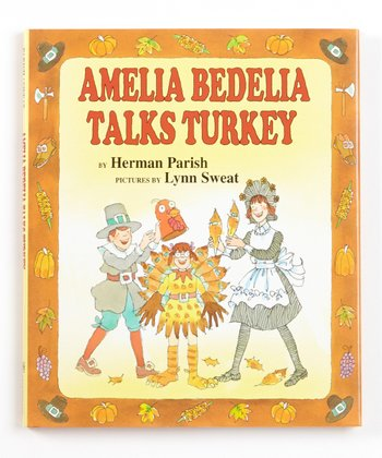 Amelia Bedelia Talks Turkey Hardcover