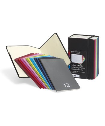 Colorful Monthly Pocket Planner Set