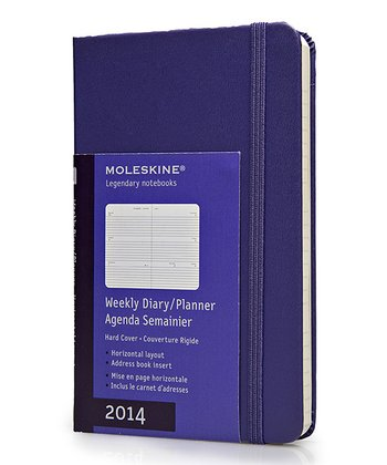 Violet 12-Month Weekly Hardcover Pocket Planner