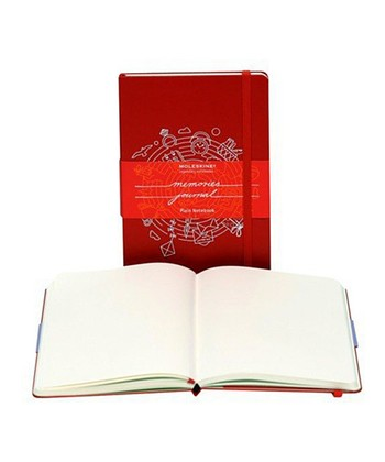 Red Memories Plain Pocket Notebook