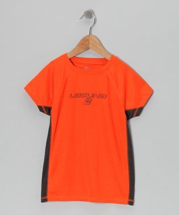 Orange Dazed Rashguard