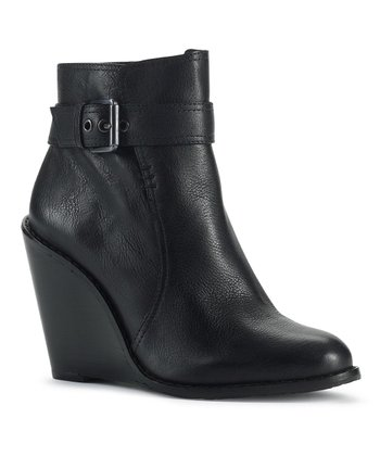 Black Patrizio Wedge Bootie