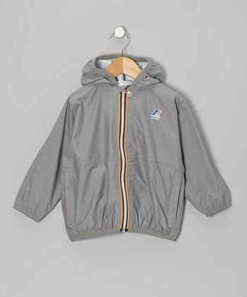 Heather Gray Rain Jacket - Infant & Kids