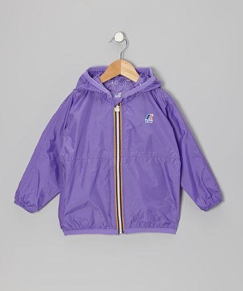 Fresh Purple Rain Jacket - Infant, Toddler & Girls
