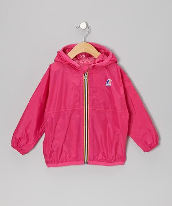Magenta Rain Jacket - Infant, Toddler & Girls