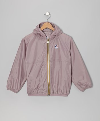 Old Rose Rain Jacket - Girls