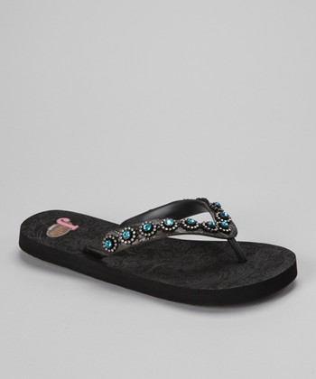 Black Stace Flip-Flop - Women