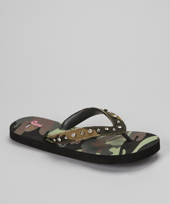 Black Jemma Flip-Flop - Women
