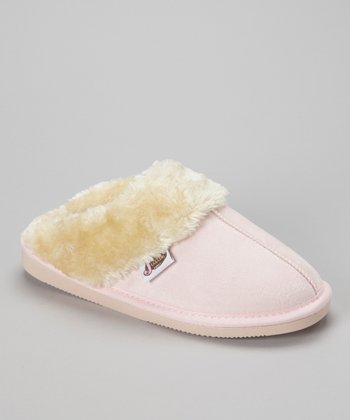 Light Pink Mule Slipper - Women