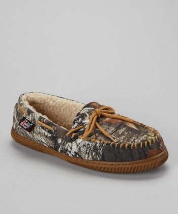 Mossy Oak Moccasin Slipper - Men