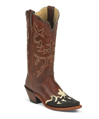 Brown Vintage Saddle Torino Western Fashion Cowboy Boot - Women