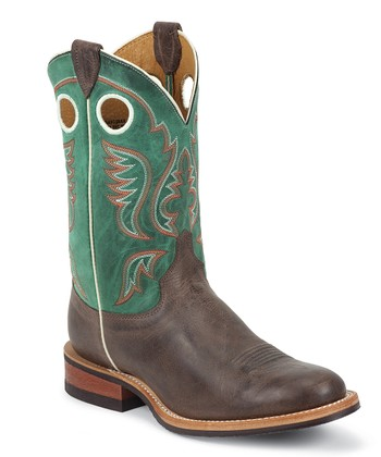 Chocolate America Bent Rail Cowboy Boot - Men