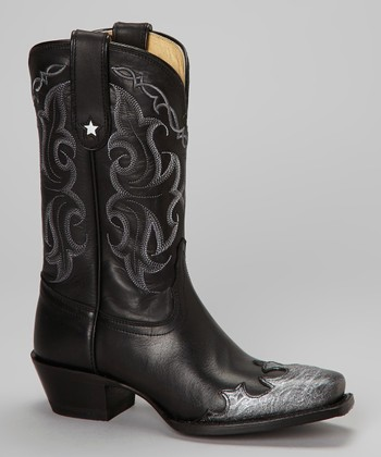 Black Star Vaquero Boot - Women