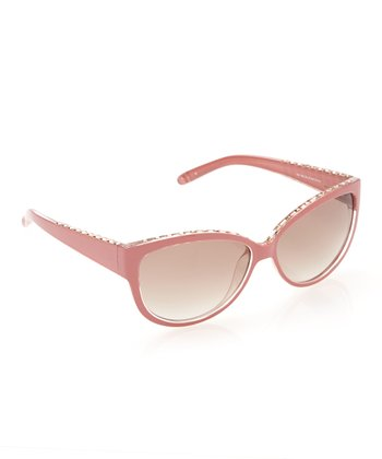 Coral Glimmer Top Sunglasses - Women