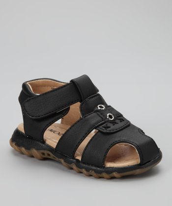 Black Dallas 101 Sandal