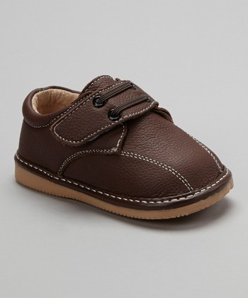 Brown Lace-Up Shoe