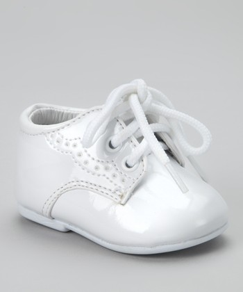 White Tutu Dress Shoe - Boys