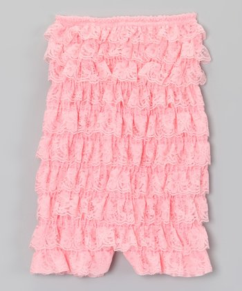 Pink Ruffle Romper - Infant & Toddler