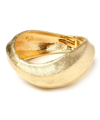 Gold Positano Bangle
