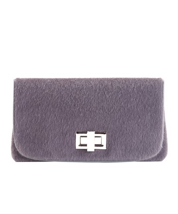 Gray Phillipa Clutch