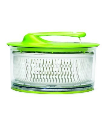 Green Large Salad Spinner