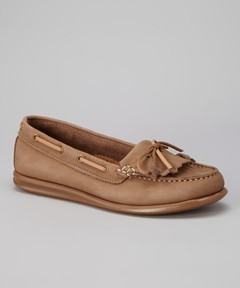 Beige Katia Loafer