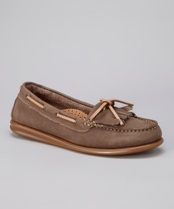 New Tan Katia Loafer