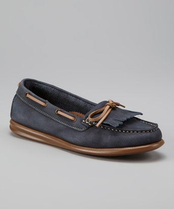 Navy Katia Loafer