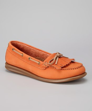 Orange Katia Loafer