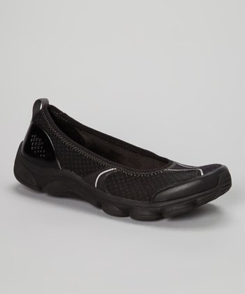 Black Runit Slip-On Shoe