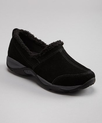 Black & Dark Gray Everyday Slip-On Shoe