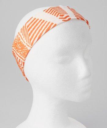 Gone for a Run Wild Orange Original RokBAND Running Headband