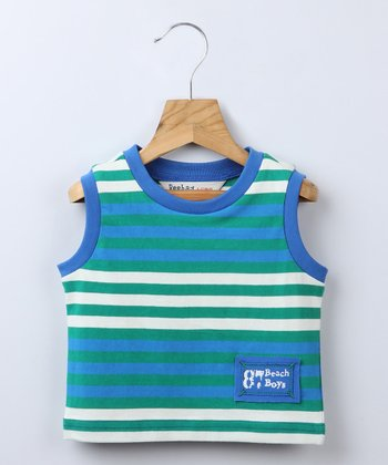 Blue Stripe Tank - Infant & Toddler