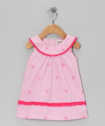 Pink Butterfly Dress - Infant & Toddler