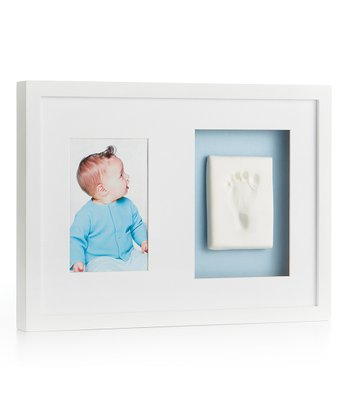 White Babyprints Wall Frame