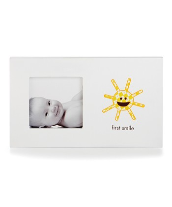 White First Smile Frame