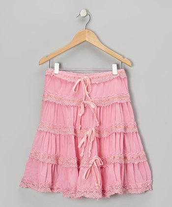 Cotton Candy Smooth Ruffle Skirt