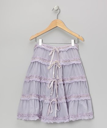 Iris Smooth Ruffle Skirt