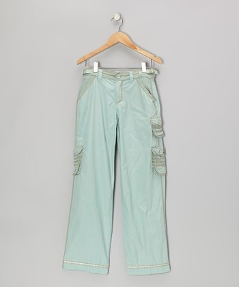 Key Largo Green Cargo Pants