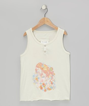 Aspen Knit Flower Princess Tank