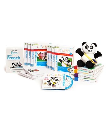 French Complete Book & Flash Card Set