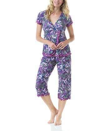 Belinda Compass Nursing Pajama Set